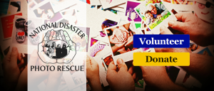 National Disaster Photo Rescue Volunteer or Donate